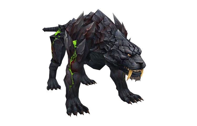 monster evil dark tiger 3d model