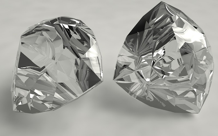 Trillion Diamonds 3d Model