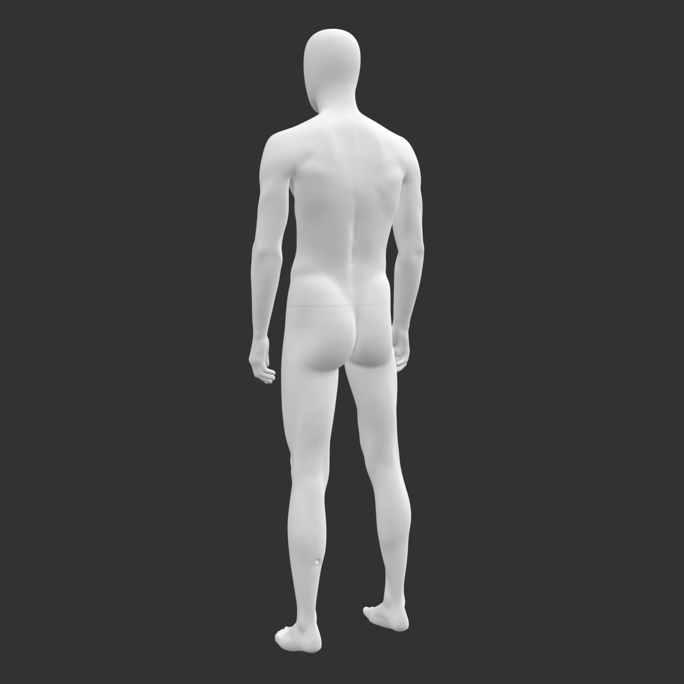 Male Sports Mannequin 3d Printing Model - 2