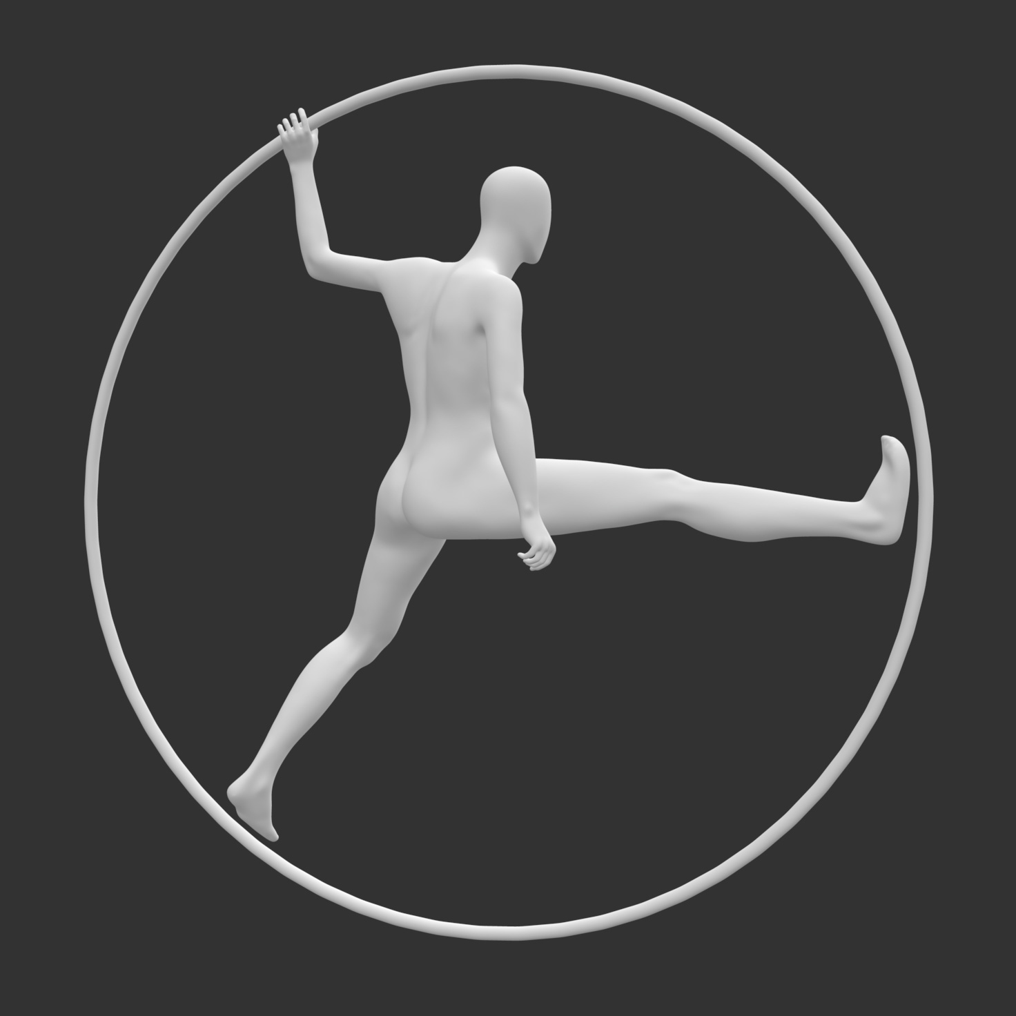 Ring Mannequin 3d Printing Model