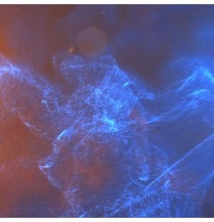 Epic light effect fluid animation logo display
