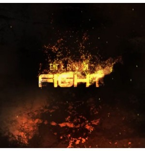 Epic Flame Particles Film Title Display