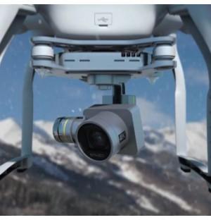 Drone camera lens sign