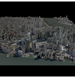 New York City Manhattan USA 3d model