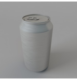 Drink cans 3d model