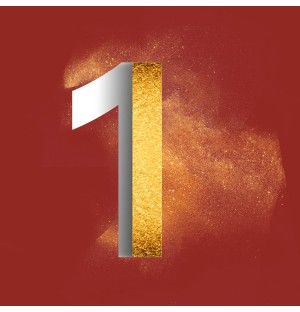 Gold Powder Dust Photoshop psd number 1