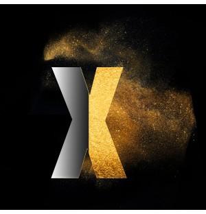 Gold Powder Dust Photoshop psd x lowercase