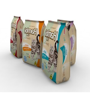 Cat Food Package Mockup 3d model