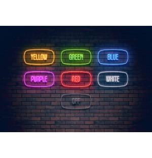 main neon light effect