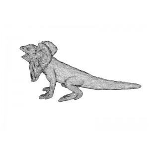 Frilled Lizard 3d printing model