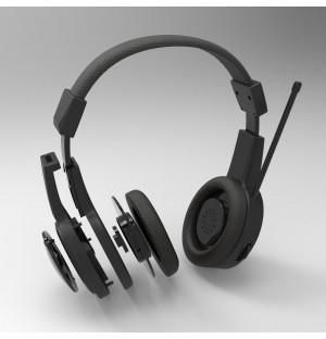 3D model industrial design of headphones