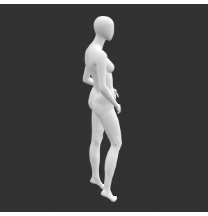 Leisure Female Mannequin 3d printing model of no face & muscle