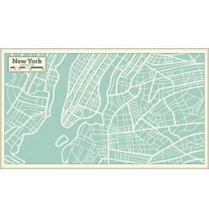 Hand Drawing Maps of International Cities Vector AI