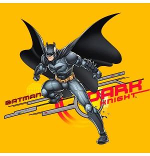 Cartoon Hero Batman Character AI Vector