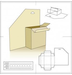 Paper Package 9 AI Vector