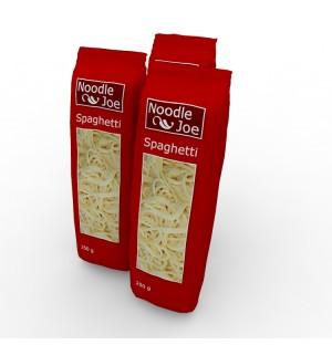 noodle plastic food package 3d model