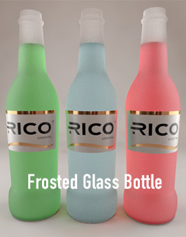 frosted glass bottle 3d model material