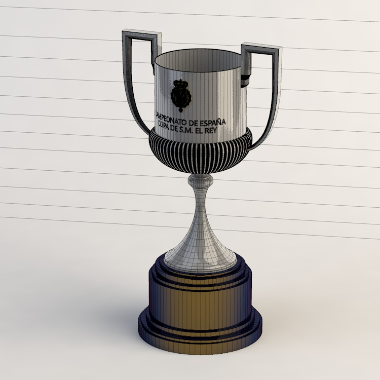 King's Football Cup 3d model