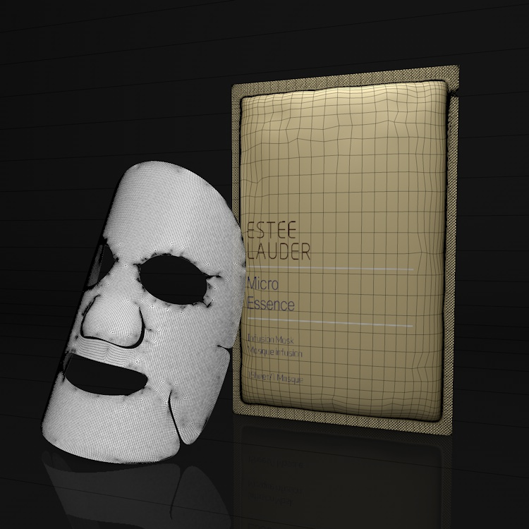 Facial mask 3d model