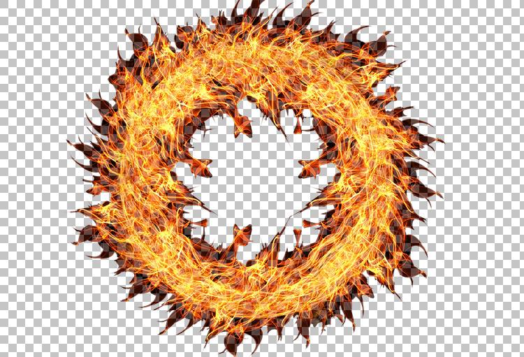 Fire Circle Png Transparent