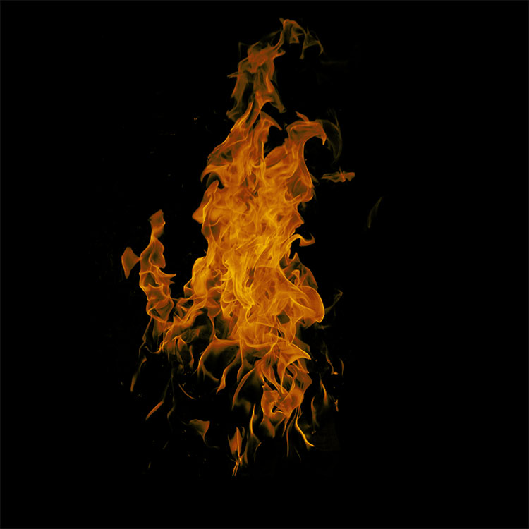 47 Realistic High Resolution Fire Flame PS Photoshop Brushes