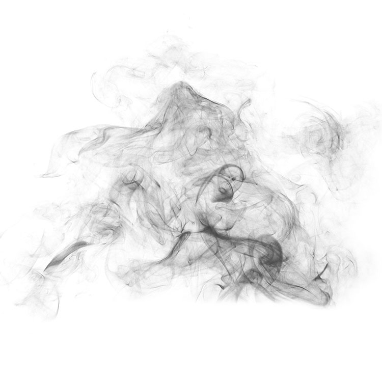 High Resolution Smoke PS Photoshop Brushes