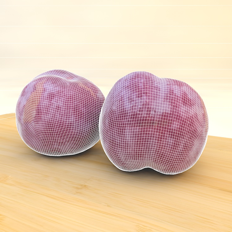 Fruit Plum 3d model