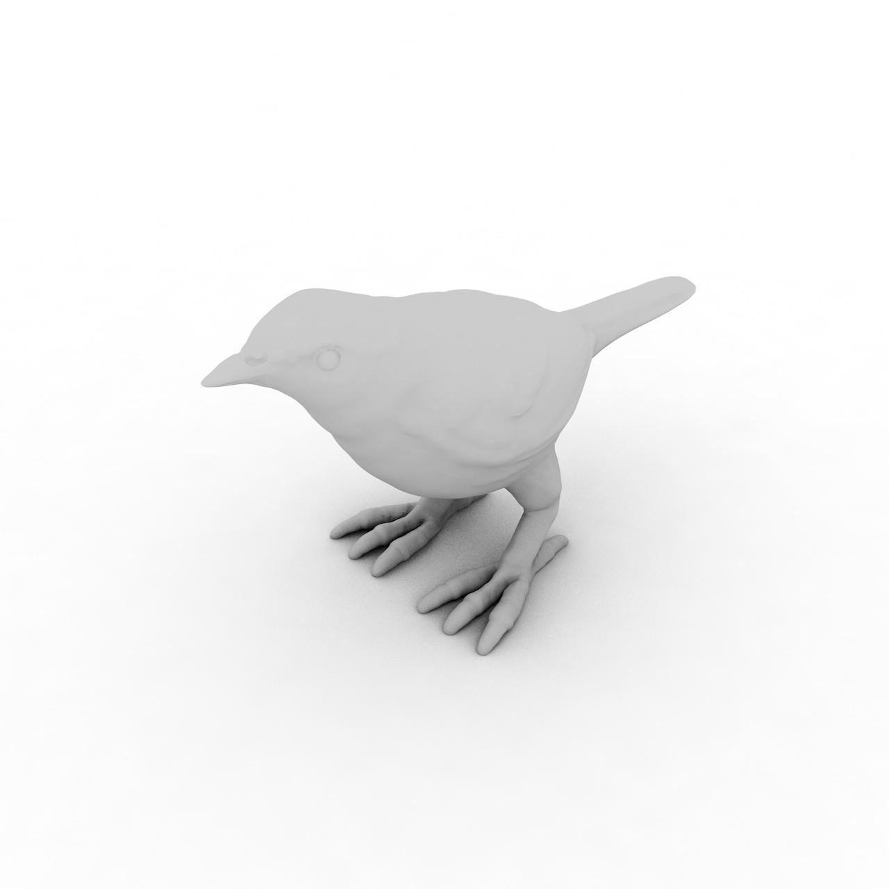 Bird 3d printing model