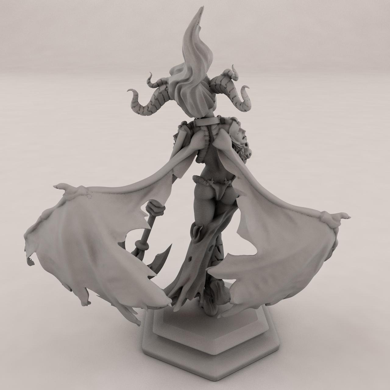 Succubus 3d printing model