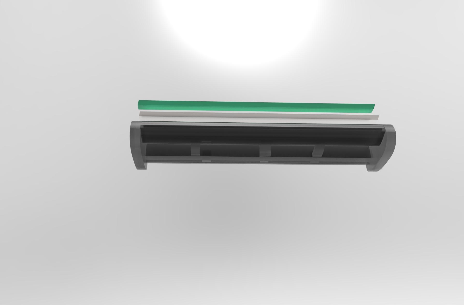 Manual razor 3D model industrial design