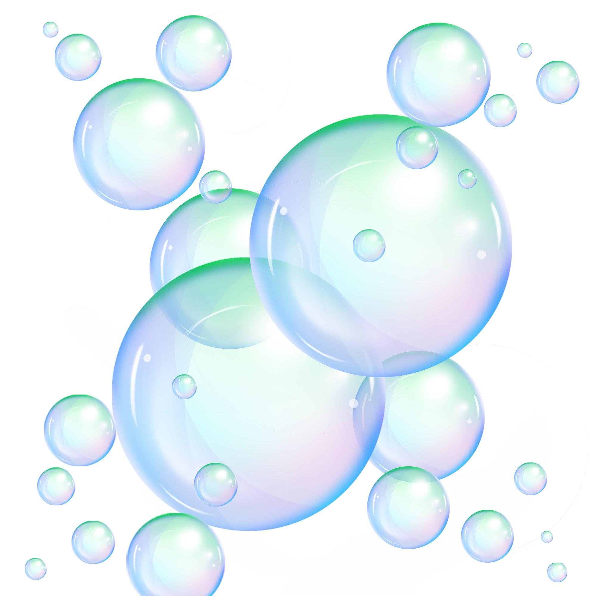 Мыльный пузырь вектор картинка