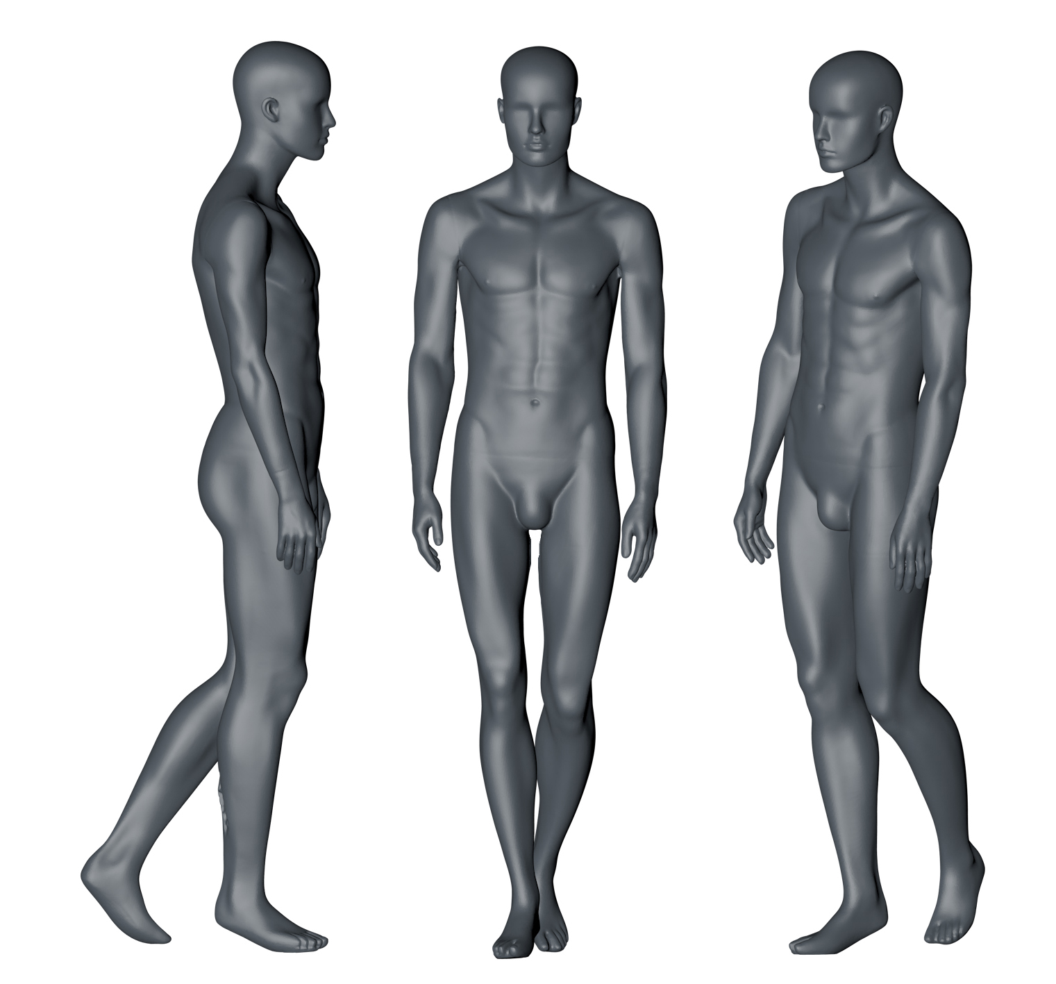 Male Mannequin (12) 3d printing model - 1