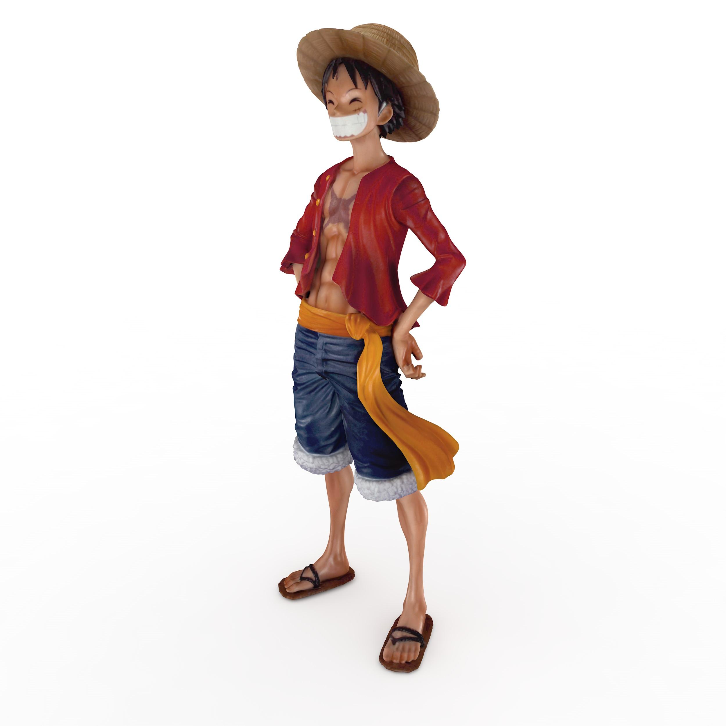 Mokeydluffy One Piece 3d model