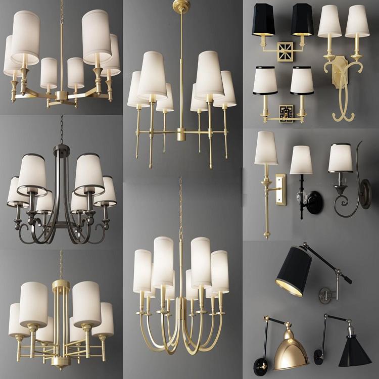 Modern fashion chandelier 3D model