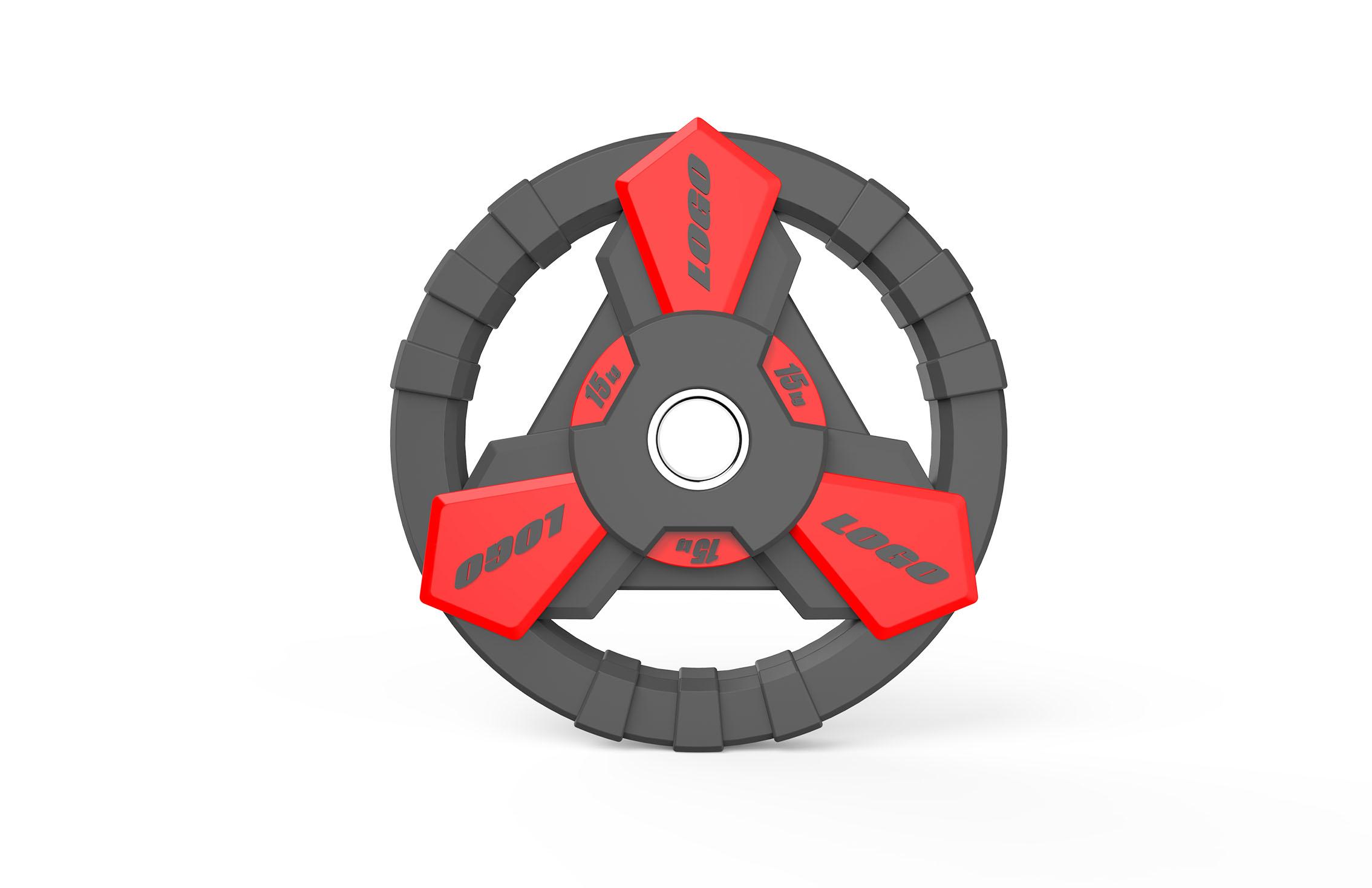 Барбелл плоча индустријски дизајн 3Д модел