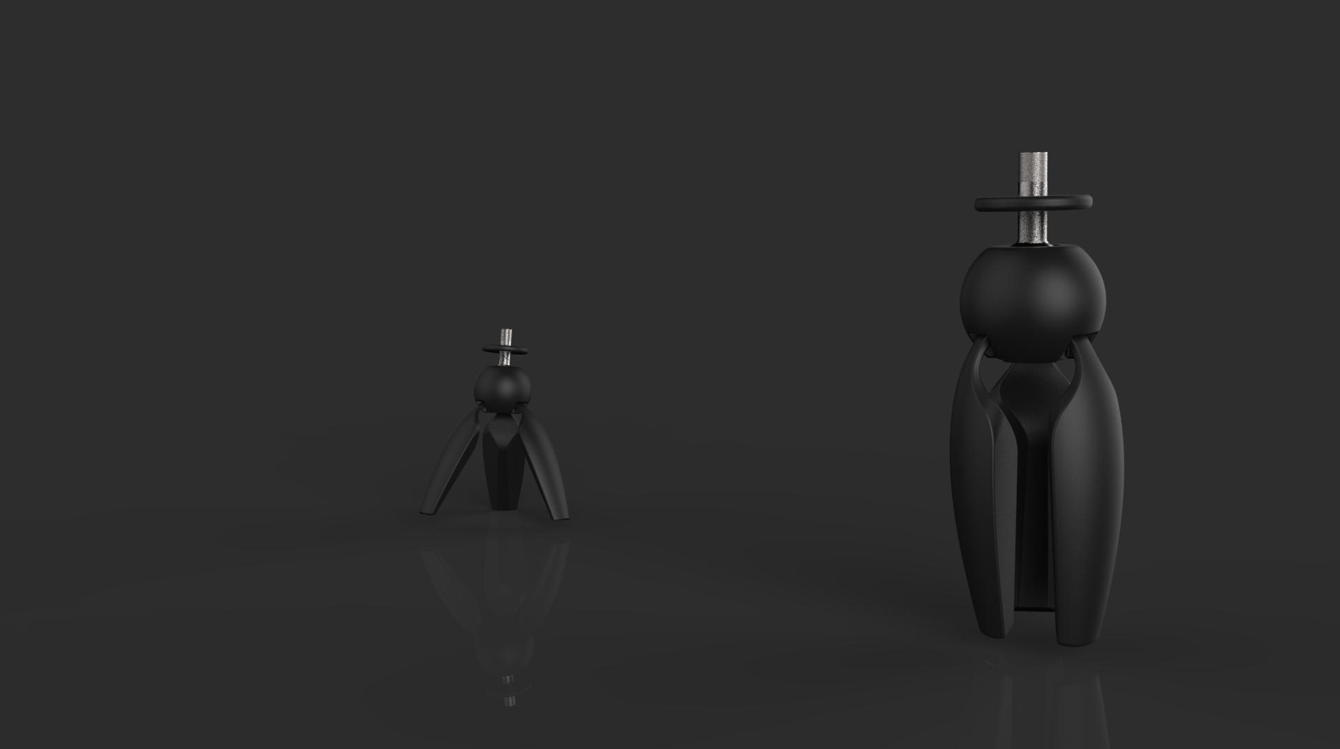 Bracket industrial design 3D model