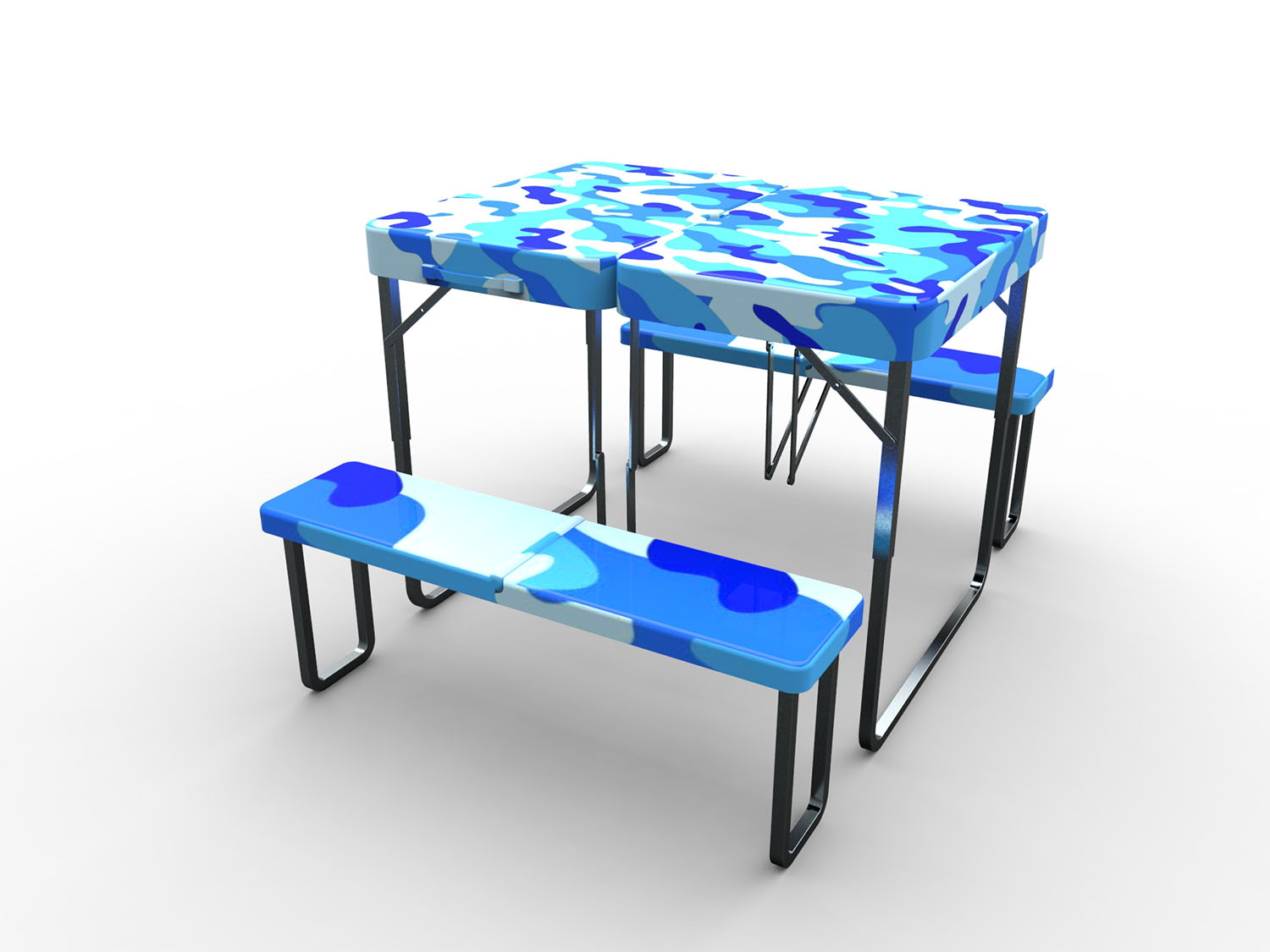 Portable Outdoor Folding Table And Chair Industrial Design