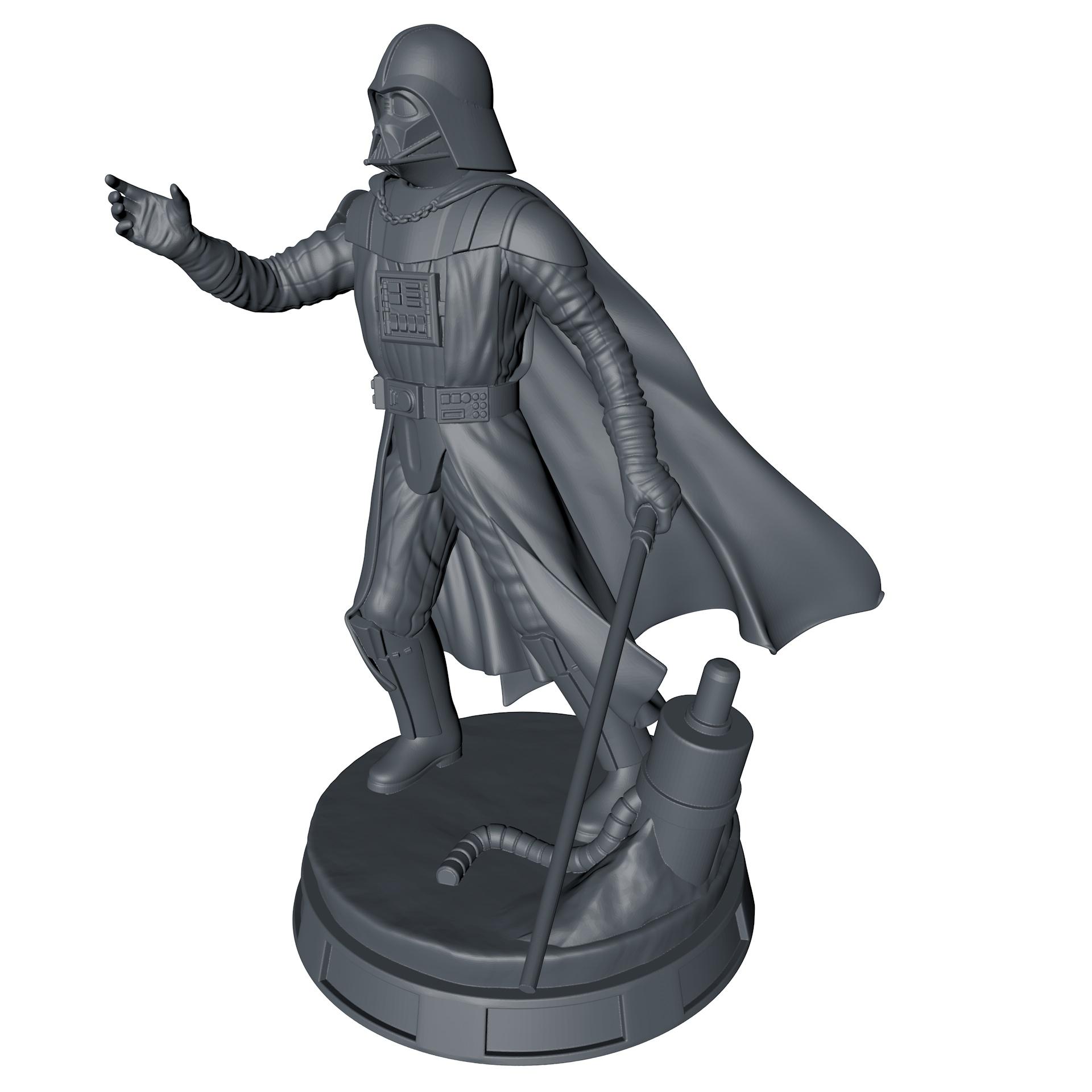 Darth Vader 3d printing model