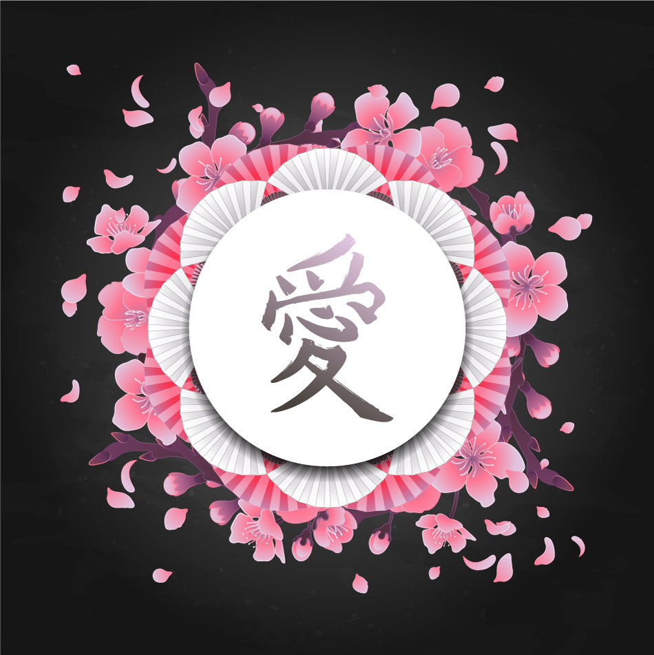 Japanese Style Cherry Blossom Background 23