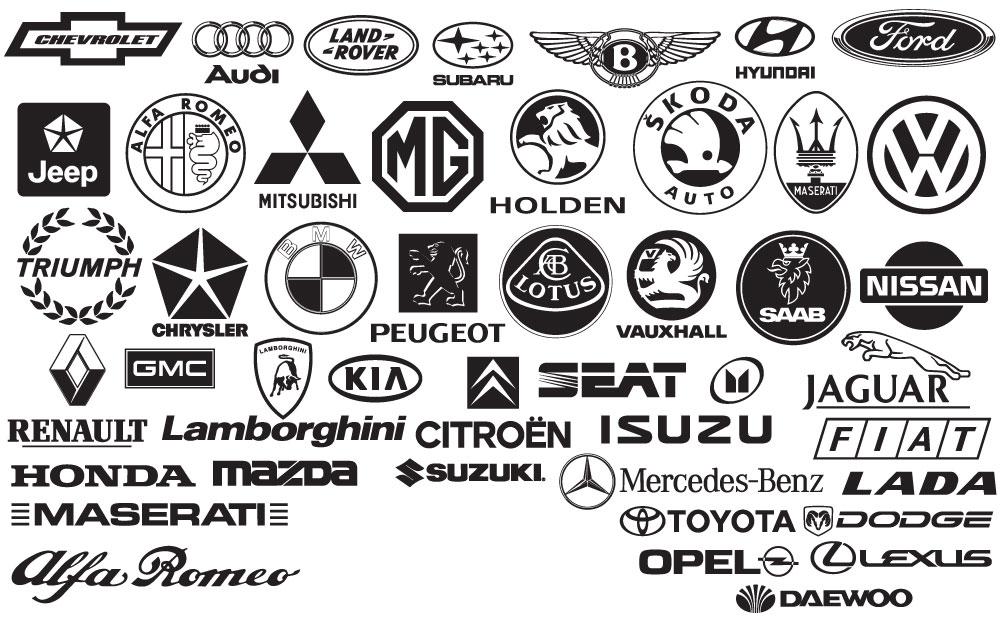 Car Brand Logo AI Vector