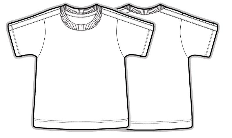 Vecteur sport enfants chemise enfants AI