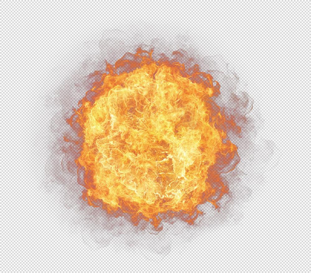Boule de feu PNG