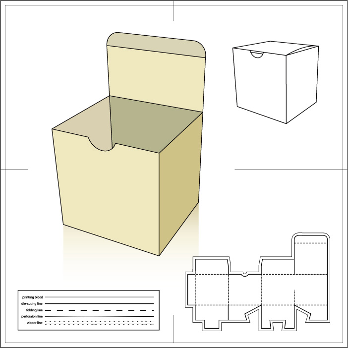 Paper Package1 AI Vector