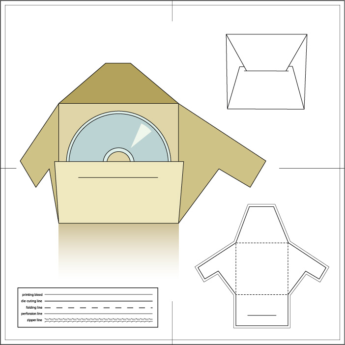 Paper Package14 AI Vector