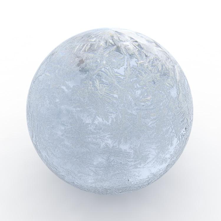 Luz azul hielo material textura cinema4d r17