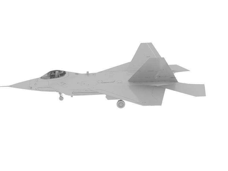 Battle Fighter Plane F22