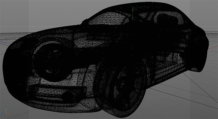 Audi TT Sports Car 3D Model 18f189c2dc8