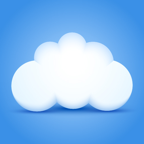 vector cloud eps ai illustrator
