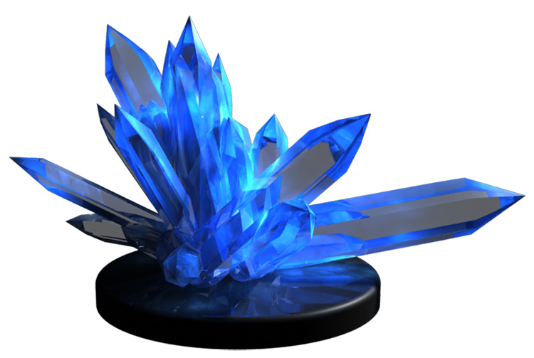 crystal magic 3d model