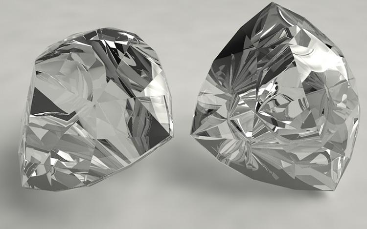 Trillion Diamonds 3d Model